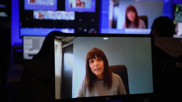 Rosario Lufrano, presidenta de Radio y Televisión Argentina