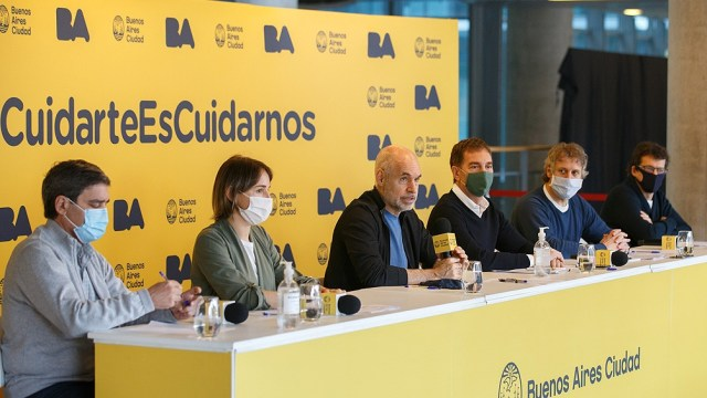 El jefe de Gobierno porteño detalló cómo seguirá el aislamiento sociel en la Ciudad de Buenos Aires.