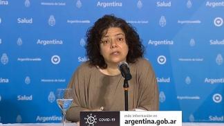Carla Vizzotti resaltó la situación de Jujuy y General Roca, en Río Negro.