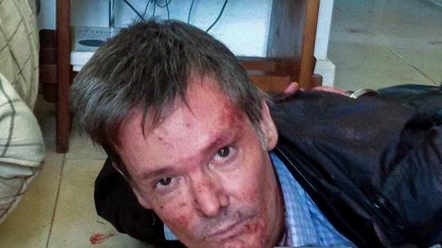 La imagen de Farré tras el crimen que conmocionó a los mismos policías.