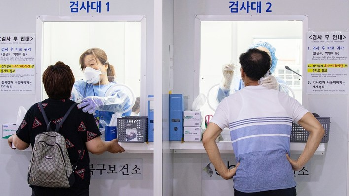 En Corea del Sur alertaron que el brote en Seúl está cerca de estallar a nivel nacional