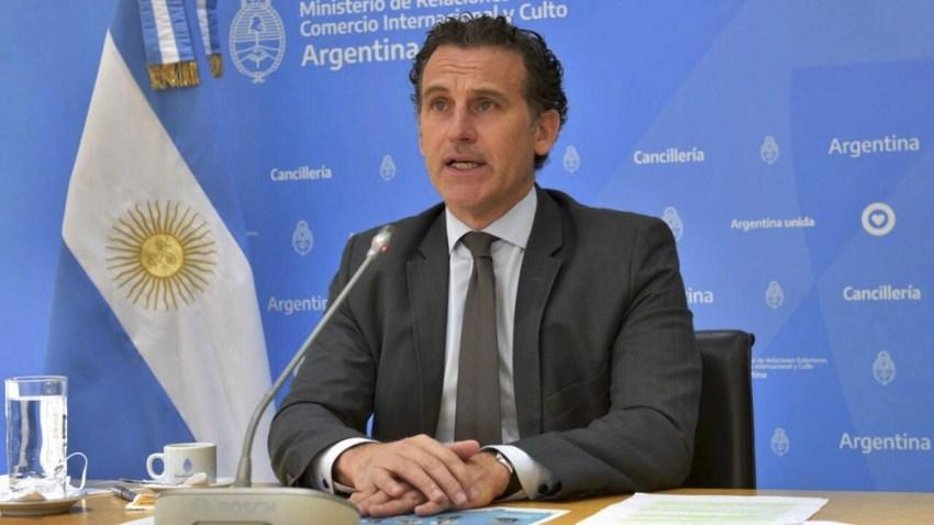Guillermo Justo Chaves, jefe de gabinete de la Cancillería.
