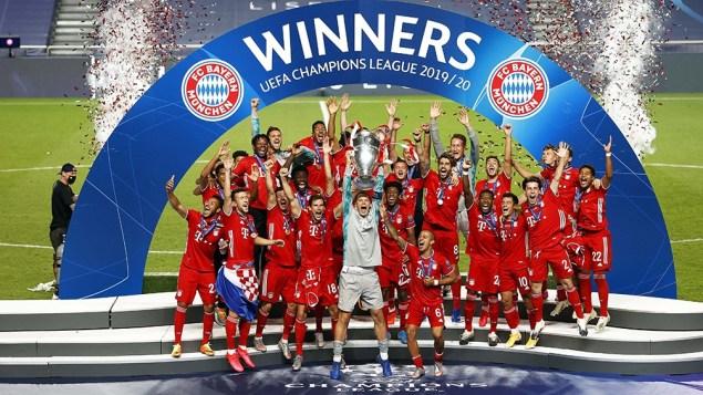 Bayern y su costumbre de ganar títulos.