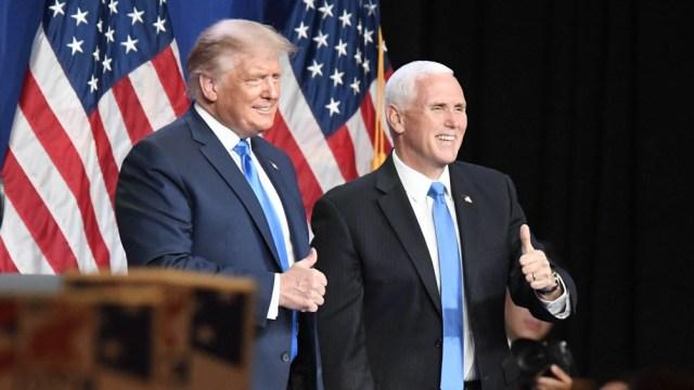 Trump, que busca la reelección, suscita una mayoría de opiniones negativas.