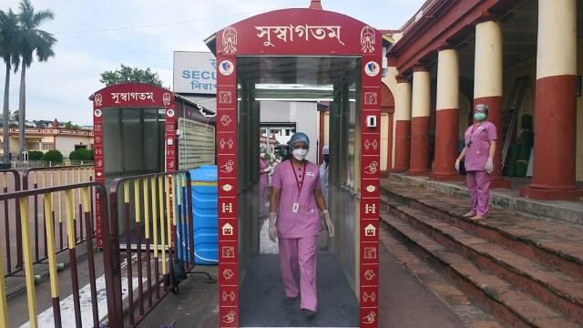India es el segundo país con más contagios registrados en lo que va de pandemia, con 5.903.933 positivos.