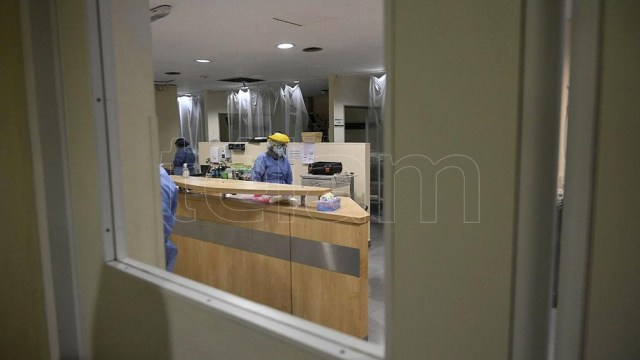 """""""Los hospitales de la Ciudad están en un 85/90 por ciento de ocupación""""."""