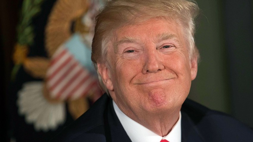 """""""Hemos hecho un trabajo fantástico"""", dijo Trump"""