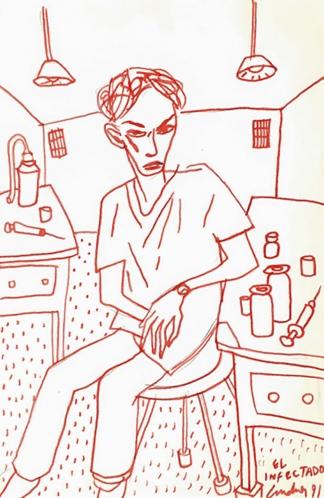 El infectado, Lux Lindner, 1991