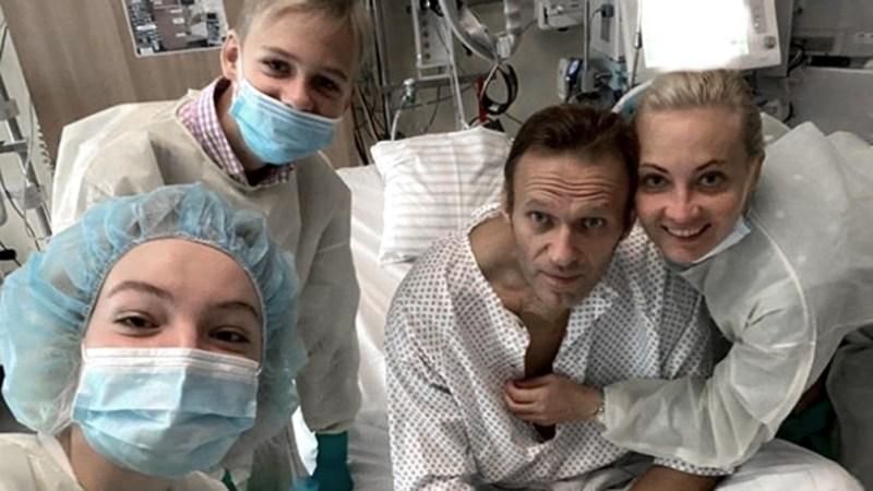 Navalny estuvo internado varias semanas en Berlín.