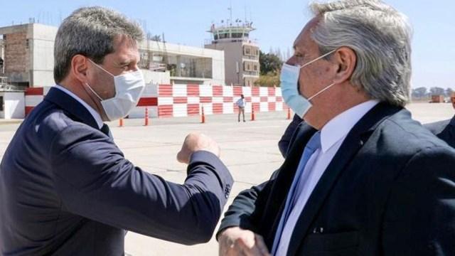 La última visita de Fernández a la provincia se registró el 1º de octubre del año pasado.