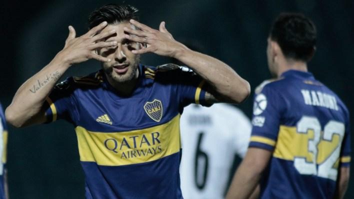 Salvio está repuesto para el partido por la Copa Libertadores.