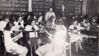 Bibliotecas en viejos tiempos