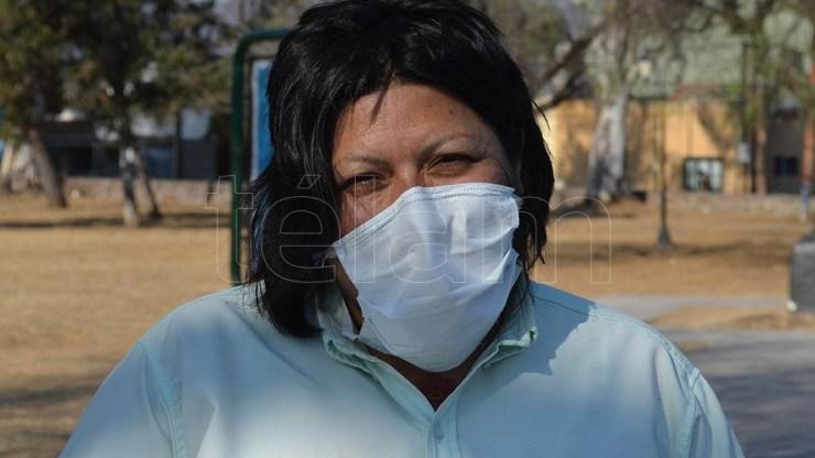 Mirta Sisnero fue a la justicia para que le permitiesen estar al volante de un colectivo.