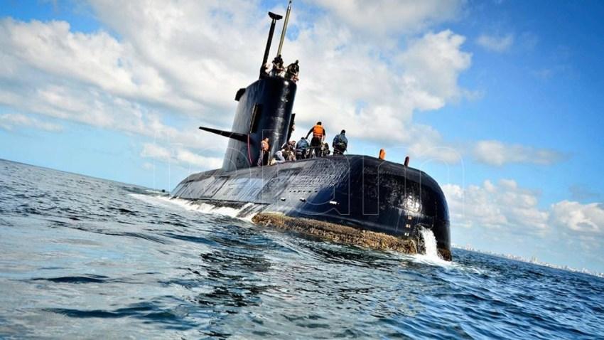 El submarino fue hundido en el Mar Argentino en 2017.