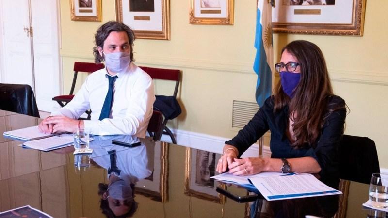 """Cafiero y Gómez Alcorta presentan el """"Plan Nacional de Igualdad en la Diversidad 2021-2023."""
