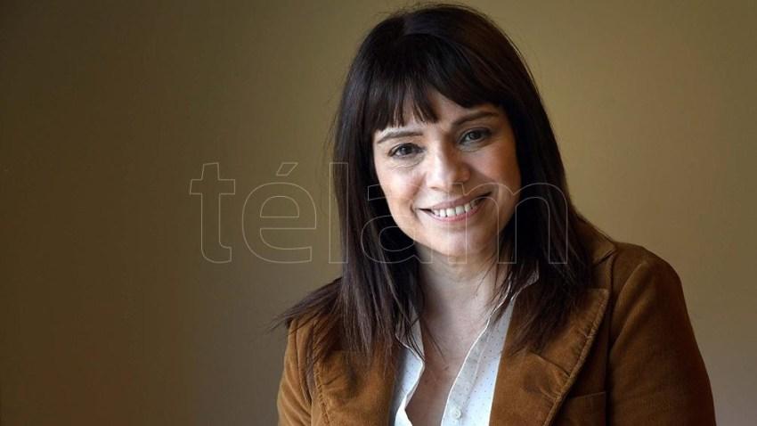 Rosario Lufrano, presidenta de la Gerencia de Periodismo de la Televisión Pública.
