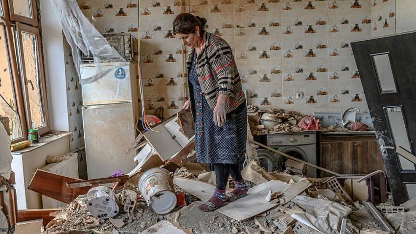 Ambas partes se acusaban de violar la tregua y anoche se registraron bombardeos azerbaiyanos