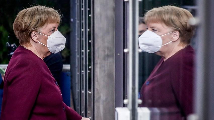 """""""Básicamente, tenemos una nueva pandemia"""", dijo Merkel"""