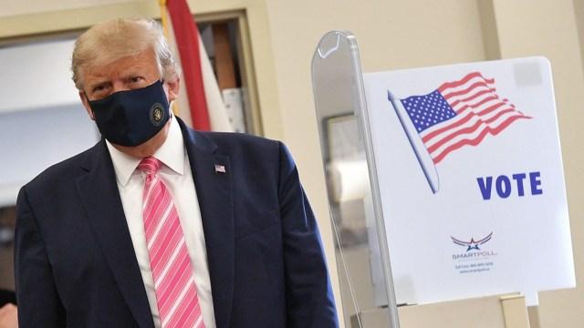 Trump no se rinde ante la posibilidad cada vez más cercana de una derrota.