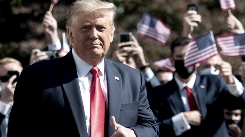 Donald Trump va por la relección.