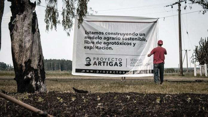 El Proyecto Artigas es una iniciativa agroecológica que tiene tres pilares fundamentales que son justicia, verdad y reparación.