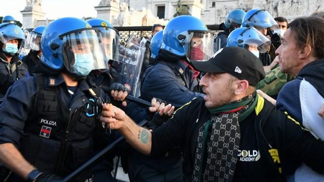 Varios países fueron este fin de semana escenario de manifestaciones contra las restricciones