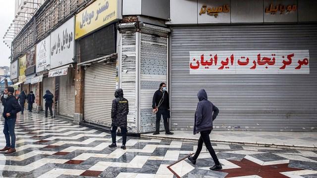 Irán registró más de 430 muertes diarias en los últimos cinco días