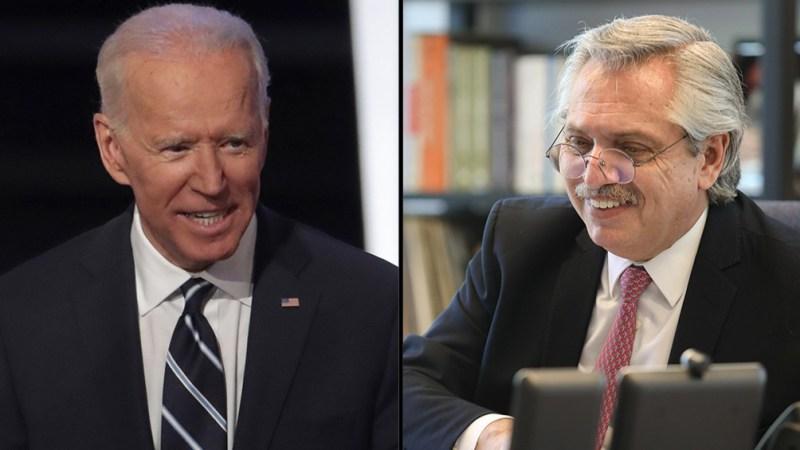 Joe Biden invitó a Alberto Fernández a la Cumbre de Líderes sobre el Clima - Télam - Agencia Nacional de Noticias