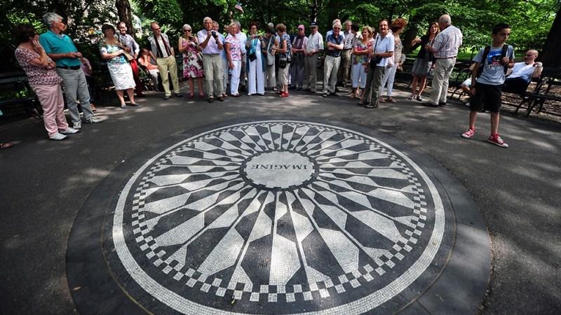 El John Lennon Memorial en Nueva York