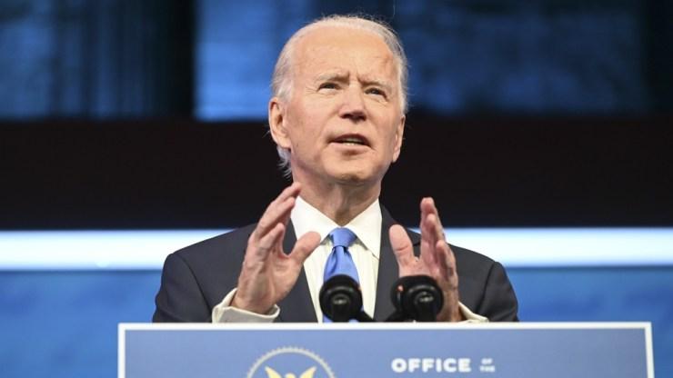 """Biden: """"Nuestra democracia está bajo un ataque inédito"""""""