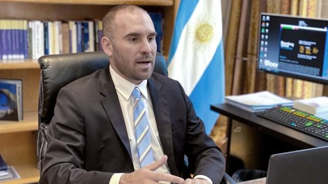 Guzmán participó de la reunión de ministros de Finanzas del G20.