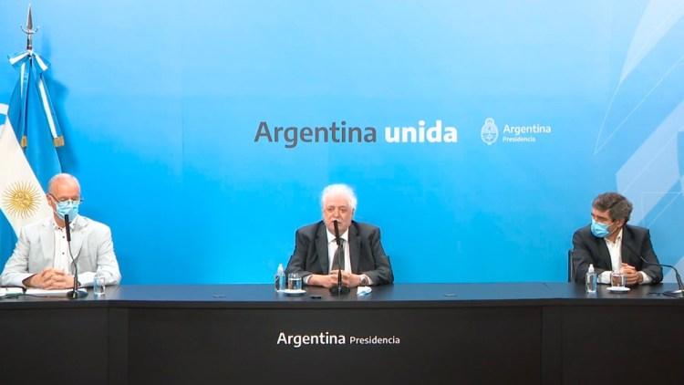 """González García: """"Estamos en tratativas con proveedores como la Sinovac y Sinopharm de China, donde mañana voy a tener una videoconferencia ya que llevamos 5 meses de negociación"""""""