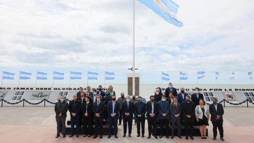 La anterior reunión de gobernadores en Río Grande, Tierra del Fuego.