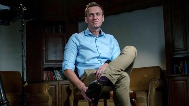 Navalny acusa a las autoridades rusas de haberlo envenenado.