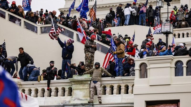 Las protestas en el Capitolio