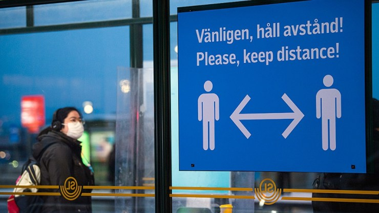 Suecia es uno de los países más afectados de Europa