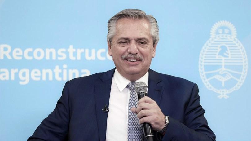 """Alberto Fernández dijo que el dictado de clases """"es prioritario este año""""."""