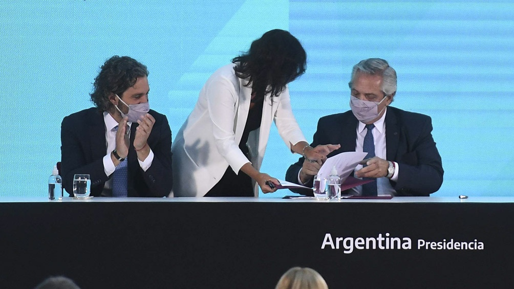 El presidente Alberto Fernández firmó la promulgación de la norma.