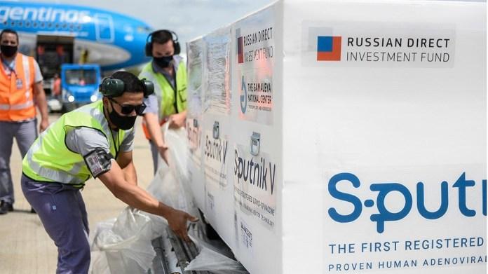 Este fue el segundo viaje de la compañía de bandera a Moscú para transportar vacunas