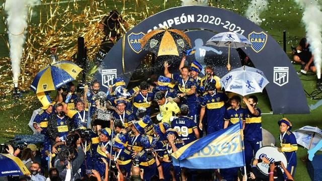 Boca viene de consagrarse como campeón de la Copa Diego Maradona