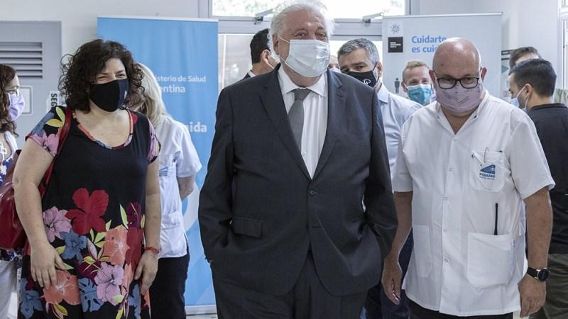 Ginés García ya tuvo reuniones previas con diputados en la sede del ministerio