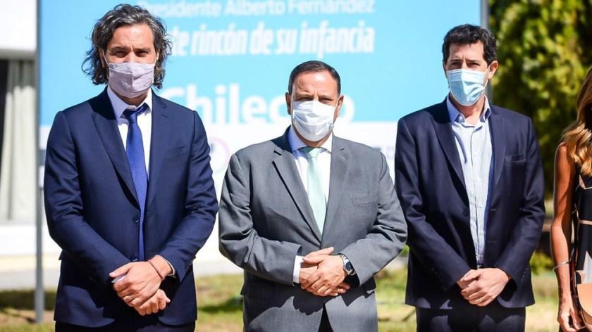Cafiero participó en la localidad riojana de Chilecito de la reunión del Gran Norte.