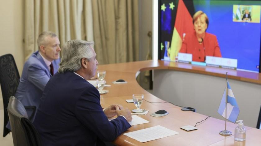 Los mandatarios ya se habían reunido en febrero de 2020.
