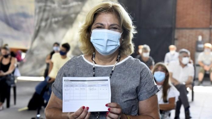 Se aplicaron 3.570.460 dosis de vacunas contra el coronavirus.