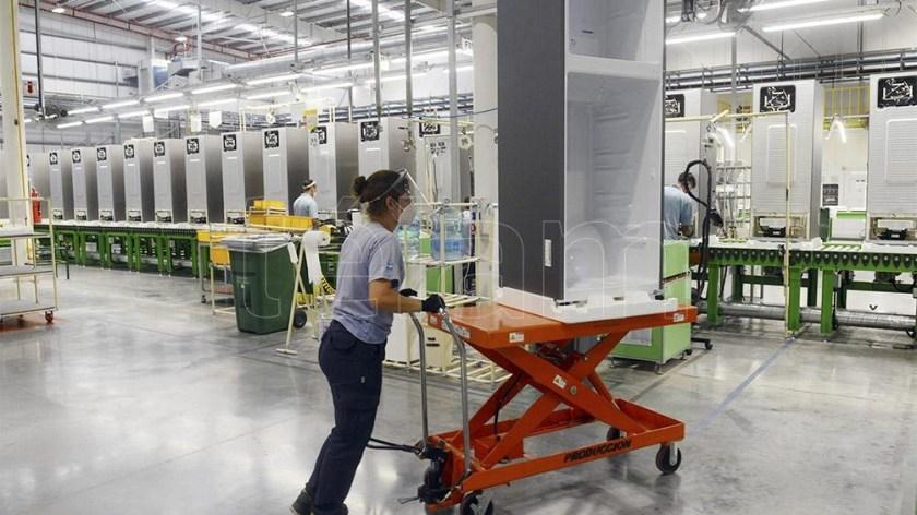 En noviembre, el sector industrial de línea blanca, de aparatos de uso doméstico, aumentó su producción en 54,9%.
