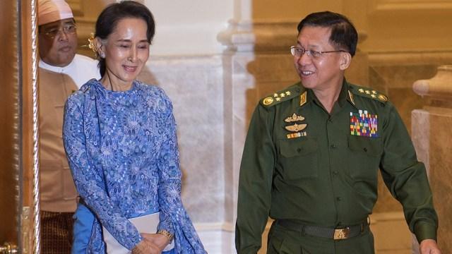 La comunidad internacional exige la liberación de la Premio Nobel Suu Kyi y de todos los detenidos.
