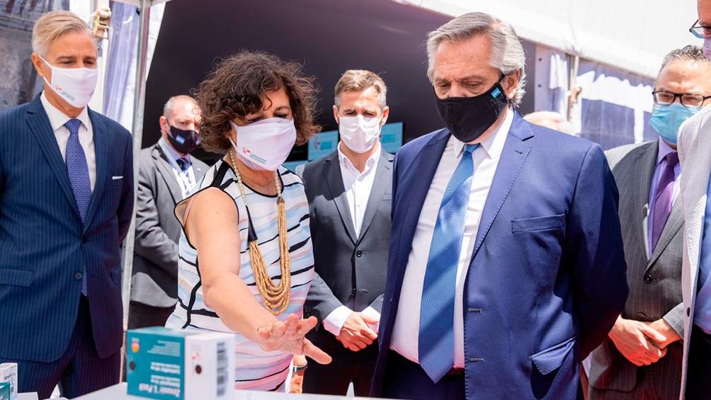 En el momento en que se anunció el memorando de entendimiento entre el RDIF y -en febrero pasado-, el presidente Alberto Fernández destacó el acuerdo.