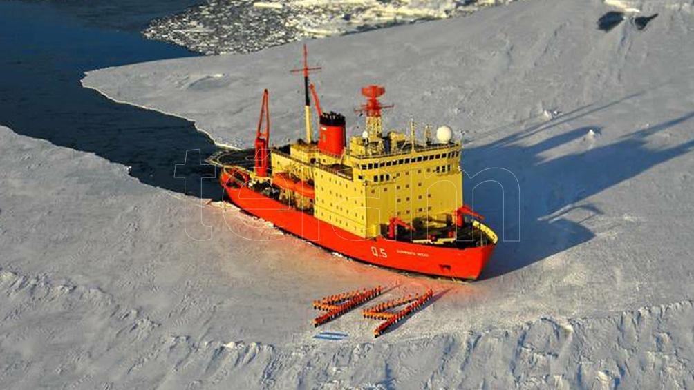 """Los tres países llamaron a la """"urgente"""" protección de las aguas de la Antártida"""