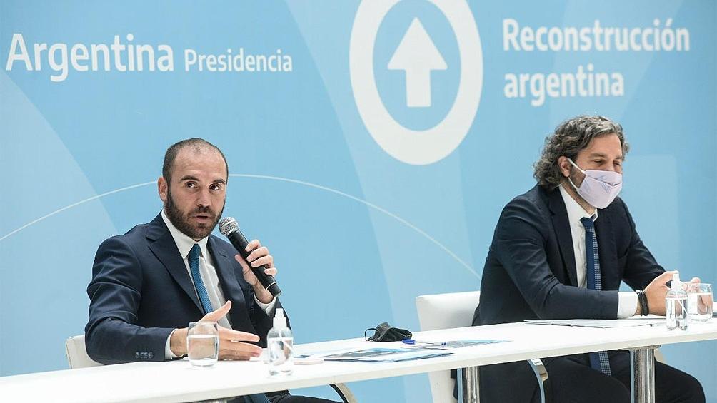 El encuentro con los sindicalistas se realiza en el marco de la mesa de diálogo que impulsa el presidente Alberto Fernández para generar acuerdos.