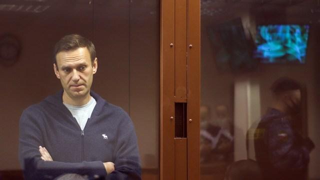 Navalny fue detenido el 17 de enero a su regreso de Alemania
